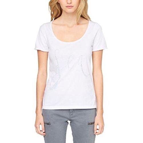 s. Oliver s. Oliver maglietta a maniche corte, Mullet lockere-vestibilità; lunghezza schiena in taglia 36ca....