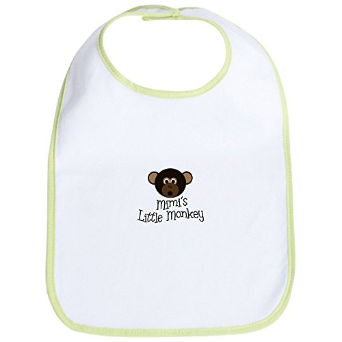 CafePress Mimi's Little Monkey BOY Bib Cute Cloth Baby Bib, Toddler Bib]()