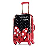 American Tourister Disney Minnie Mouse Red Bow Hardside Spinner 21, Multi, One Size