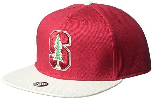 NCAA Stanford Cardinal Gallant OTS Varsity Snapback Adjustable Hat, One Size, Dark Red
