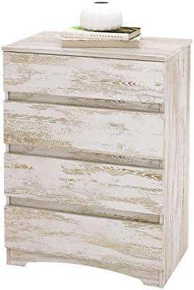 WLIVE 4 Drawer Dresser