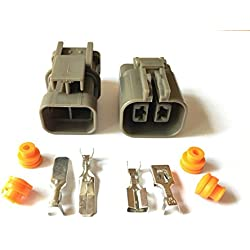 5 Sets 7223-6224-40 7122-6224-40 Female Male 2 Pin H20 Generator Auto Wiring Heavy Current Connector MG-MG7 Air Cooler Connector