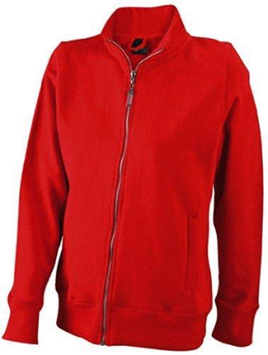 giacca amp;n Felpa Classica jn052 Rosso Da Donna J qfX7dq