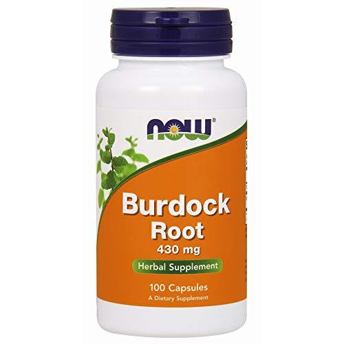 NOW Supplements, Burdock Root (Arctium lappa)430 mg, 100 Capsules