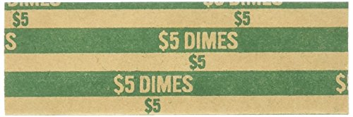 (Sparco Flat Dime Coin Wrappers)