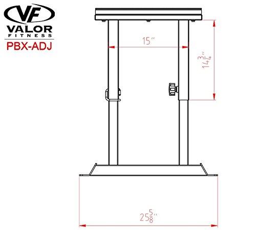 Valor Fitness Adjustable Plyobox by Valor Fitness (Image #3)