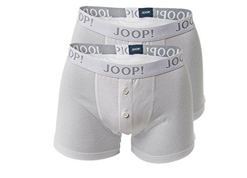 JOOP! 2 Pack Herren BOXER SHORTS mit Eingriff weiss schwarz S M L XL XXL TRUNK PANTS 2 x weiss white S