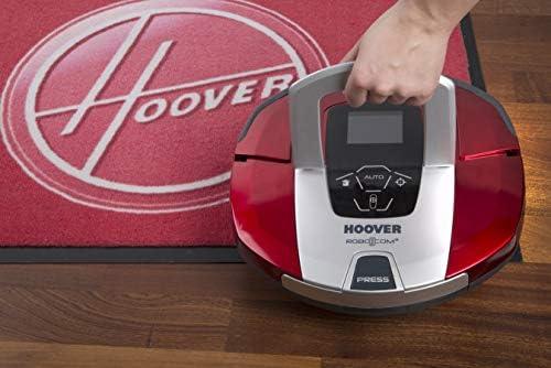 Hoover RBC040/1 Aspirateur Robot 90Min d\'autonomie Robo.COM3 Ultra Slim et Silencieux