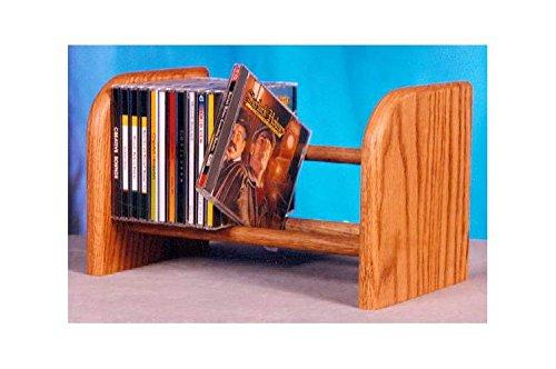 Dowel CD Rack w 1 Row (Honey Oak) price
