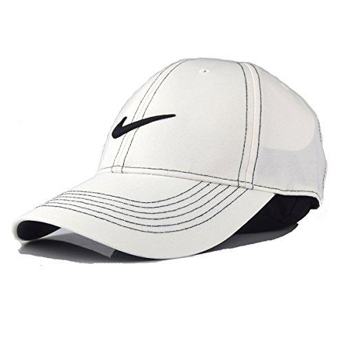 (ナイキゴルフ)NIKE GOLF Swoosh Front Cap. 333114 WHITE フロント ホワイト 14392 [並行輸入品]