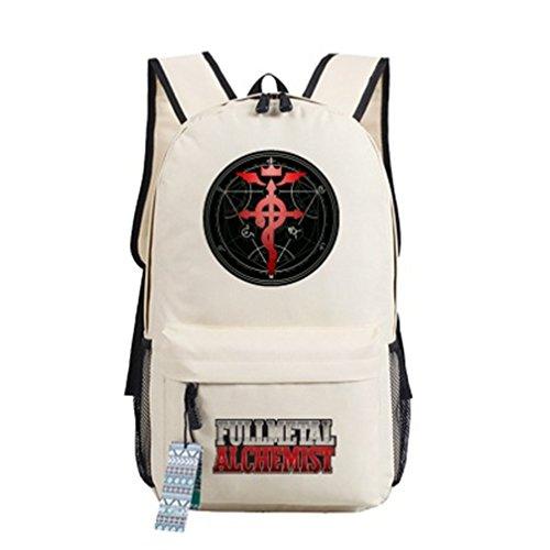 - YOYOSHome Anime Fullmetal Alchemist Cosplay Bookbag Backpack School Bag