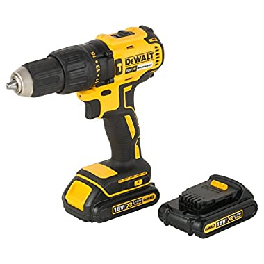 DEWALT DCD778S2T XR 18V 13mm Brushless Li-ion Cordless Hammer Drill Driver with 2x1.5 Ah Batteries included 9