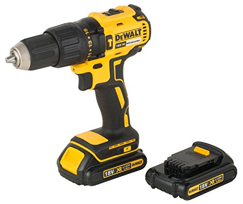 DEWALT DCD778S2T XR 18V 13mm Brushless Li-ion Cordless Hammer Drill Driver with 2x1.5 Ah Batteries included 2