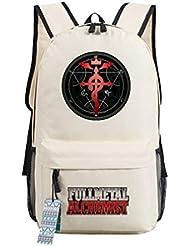 YOYOSHome Anime Fullmetal Alchemist Cosplay Bookbag Backpack School Bag