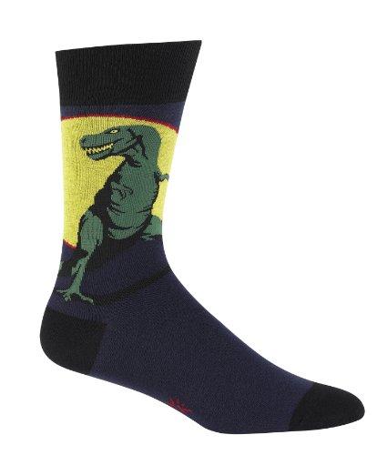Sock It To Me Men's Crew Socks,Blue,Approximately fits men's shoe size 7-13.