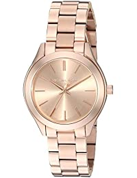 Michael Kors Women's MK3513 - Mini Slim Runway Rose Gold