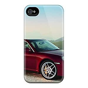 Durable Cases For The Iphone 4/4s- Eco-friendly Retail Packaging(porsche 911 Targa 4s)