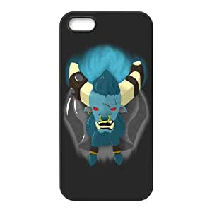 iPhone 5 5s Cell Phone Case Black Defense Of The Ancients Dota 2 SPIRIT BREAKER Rlzva