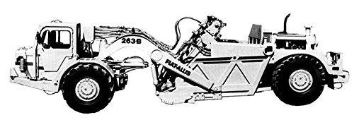 1977 Fiat Allis 263B Elevating Tractor Scraper Photo