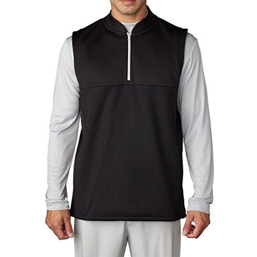 Adidas Golf Men's climawarm Debossed Vest - US L - Black