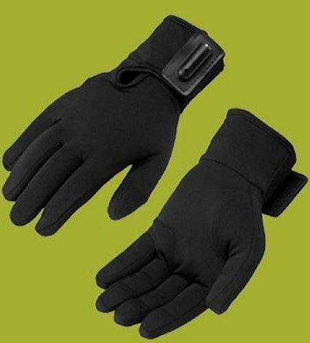 Black Heated Glove - Firstgear Heated Glove Liners Black X-Small XS