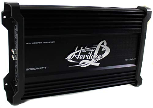 Lanzar HTG447 2,000-Watt 4-Channel Mosfet Amplifier