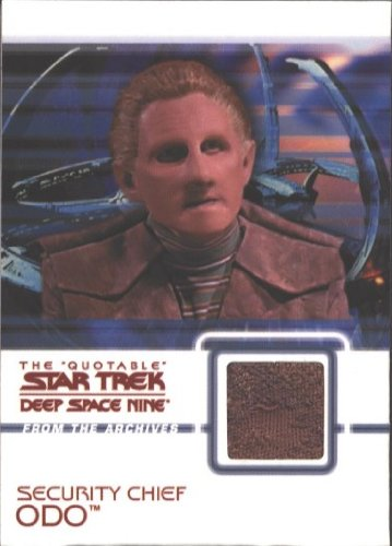 Quotable Star Trek Deep Space Nine C16 Odo Costume Card Brown (Ds9 Costumes)