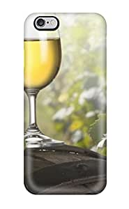 Mary P. Sanders's Shop 3275290K10528961 Awesome Case Cover Compatible With Iphone 6 Plus - Glass Of Wine From The Barrel