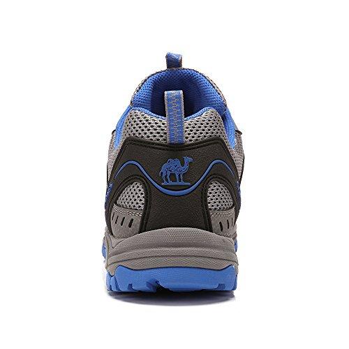 para Entrenadores Senderismo Gimnasio Walking Diario Azul Zapatillas Senderismo Viaje Respirables Unisex Running Uso Junior Shoe de Causal Escalada Zapatos vaPqxzz