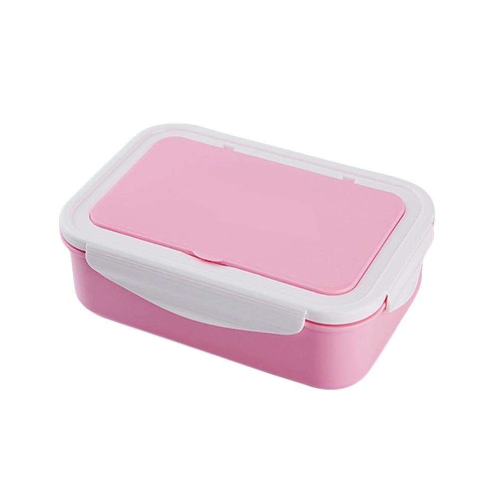Lecksicher Lunchbox Mit Besteck Mikrowelle Erhitzt Von biback Brotdose Mit F/ächern Vesperdose Bento Box Isolierung F/ür Schule Kindergarten Und B/üro