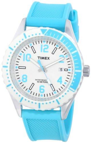 Timex Unisex T2P0069J Originals Modern Sport Blue Silicone Strap Watch