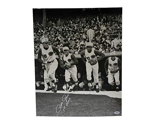 Pete Rose Autographed Signed 16x20 Photo Cincinnati Reds 1st Game - PSA/DNA Certified