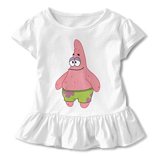 PSnsnX Spongebob Squarepants Patrick Toddler Girls Short-Sleeve Tunic T-Shirt
