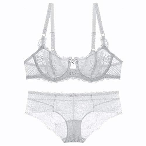 a72f9328d3440 Cloudless Lady Women Girl Lace Bra Underwear Underwire Push Up Bra  (White-32A