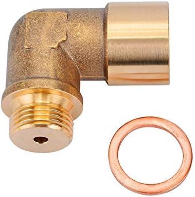 Sensor de O2 O2 Oxygen Sensor de ox/ígeno lambda M18 x1,5 de escape de 90 grados del sensor de ox/ígeno O2 Extender espaciador del sensor de ox/ígeno Extender espaciador Sonda lambda universal est/ándar d