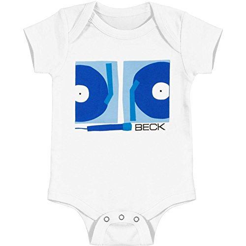 beck-baby-boys-turntables-bodysuit-6-12-months-white
