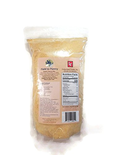 Organic Cornmeal - Artisan Stoneground - By Field To Pantry - 2lbs