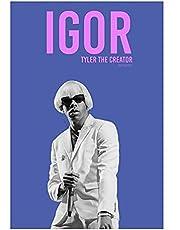 Tyler, De Schepper Muziek Album Canvas Poster Art Hip Hop Rapper Pop Muziek Ster Thuis Muurschildering Decoratie-50x70 cm Geen Frame