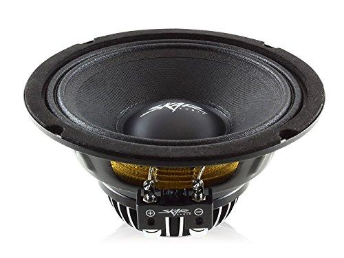 Mid Speaker 6.5 Range (Skar Audio PAX65-8 520-Watt Single 6.5-Inch 8 Ohm Mid-Range Loudspeaker)
