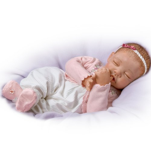 Baby Doll: Sweet Dreams, Little Ava So Truly Real by The Ashton-Drake Galleries by The Ashton-Drake Galleries (Image #5)