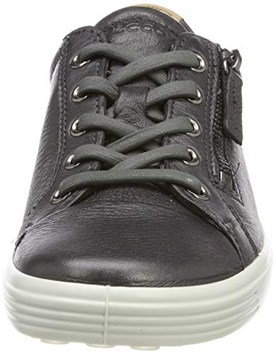 Donna black Ginnastica Soft Basse Metallic Ladies Ecco Scarpe 51383 Shadow 7 Dark Da Af0q4Z