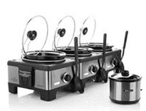 Set of 3 Linkable Bella 2.5-Quart Slow Cookers - Linkable Crock Pots