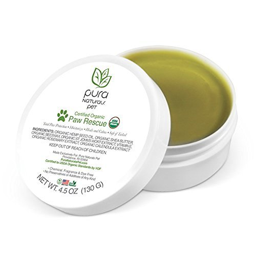 Pura Naturals Pet Certified Organic Moisturizing Paw Rescue Protection