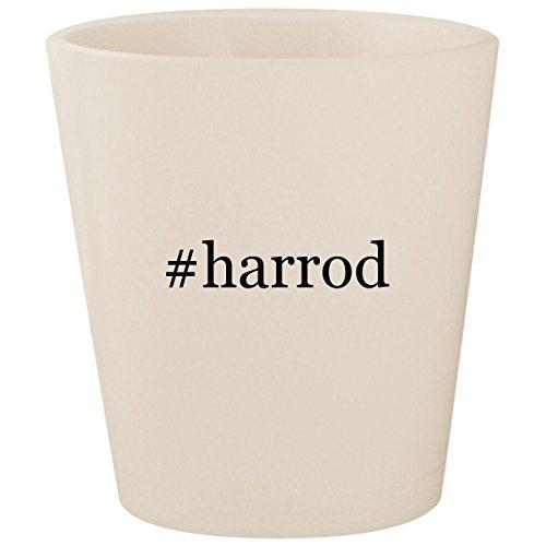 #harrod - White Hashtag Ceramic 1.5oz Shot Glass