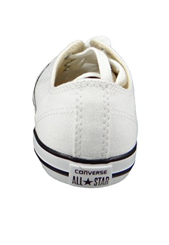 Converse Womens Chuck Taylor All Star Dainty Ox Bianco, Nero
