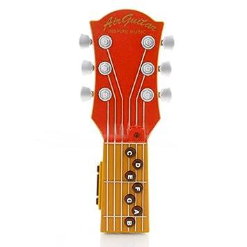Mini Music Toy Guitarra de aire eléctrica con cuerdas de infrarrojos IR y altavoz interno: Amazon.es: Juguetes y juegos