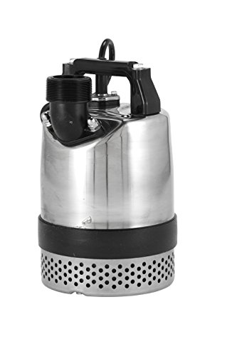 Red Lion RL50CON Heavy-Duty 1/2HP Submersible Utility Pump with 20-Feet Power (Submersible 4' Motor)