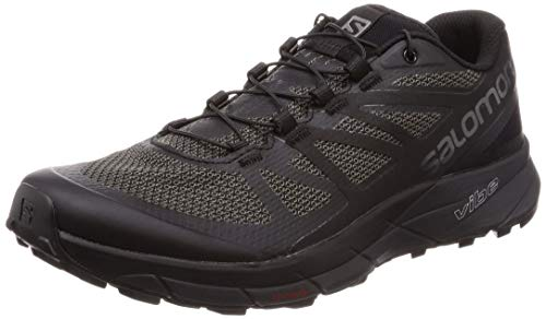 Salomon Shoe Black Men's Running Magnet Ride Black Sense rBPn8qvr