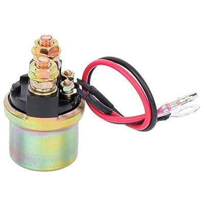 INEEDUP Solenoid Relay Switch 6G1-81940-00-00 Continuous Duty Solenoid: Automotive