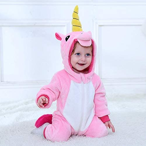 SOHOH Pijama Unicornio Bebé de la Historieta del Mameluco recién ...